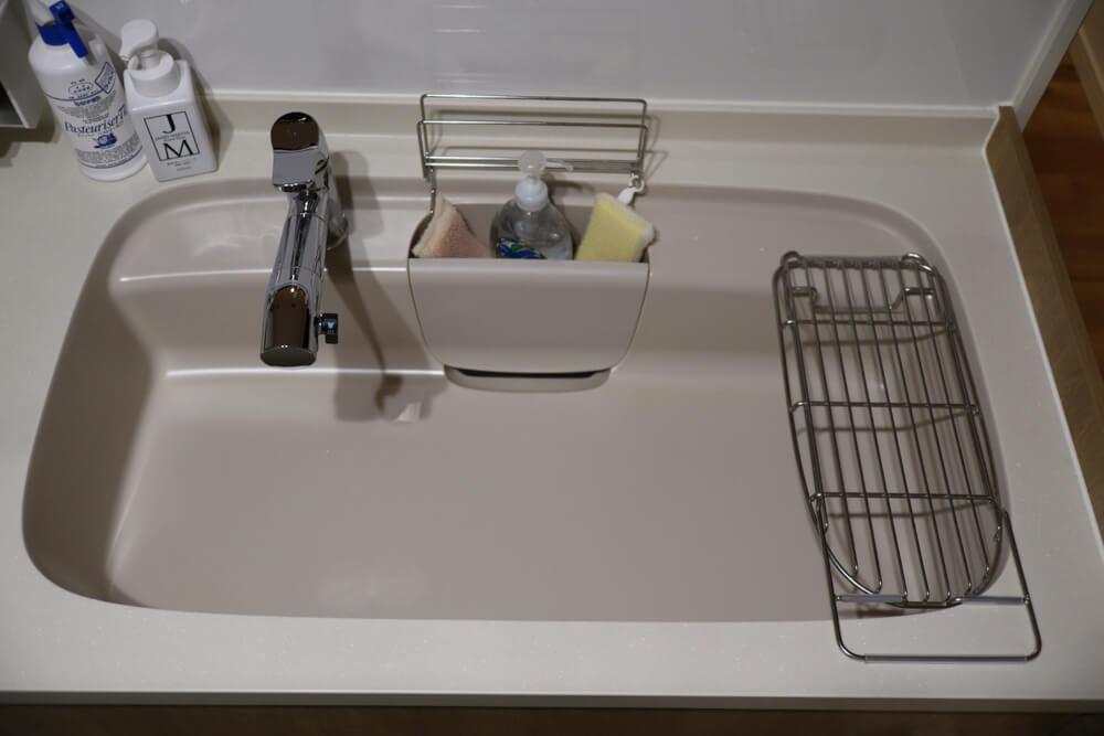 リクシルのキッチンASはシンクのデザインが抜群でかっこいい