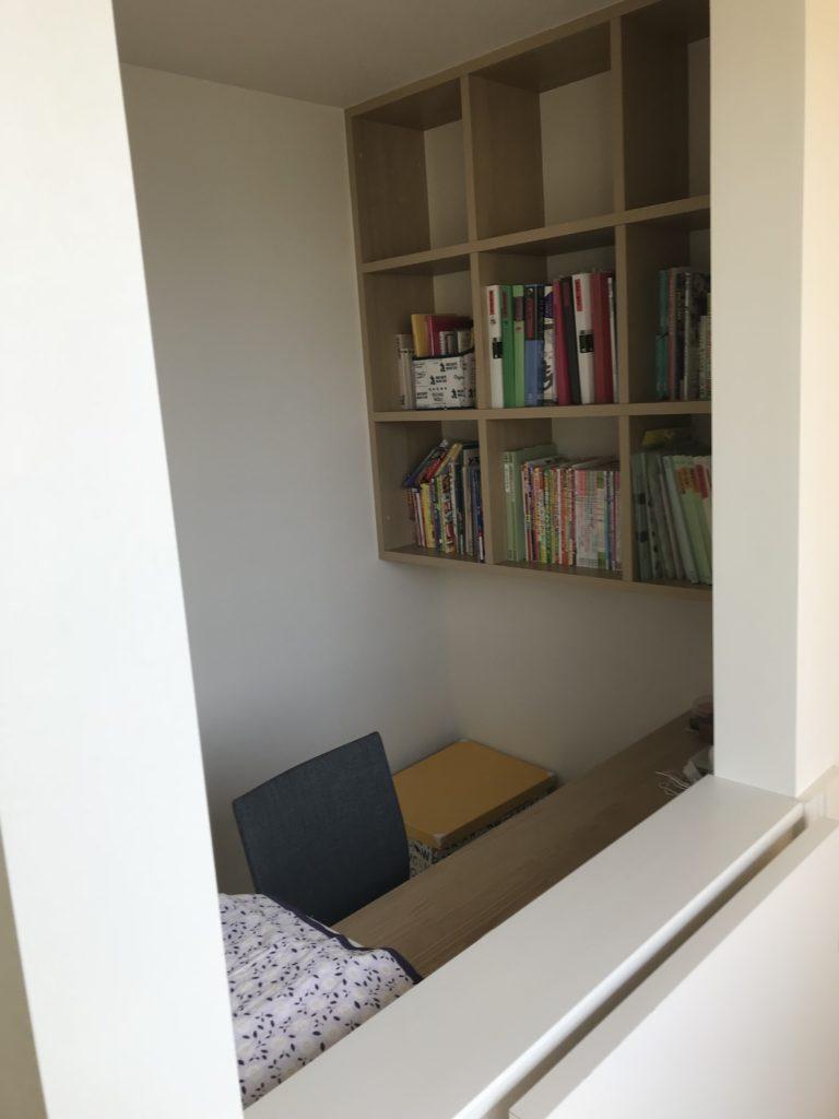 共有スペースの書斎