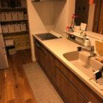リクシルの人造大理石キッチン