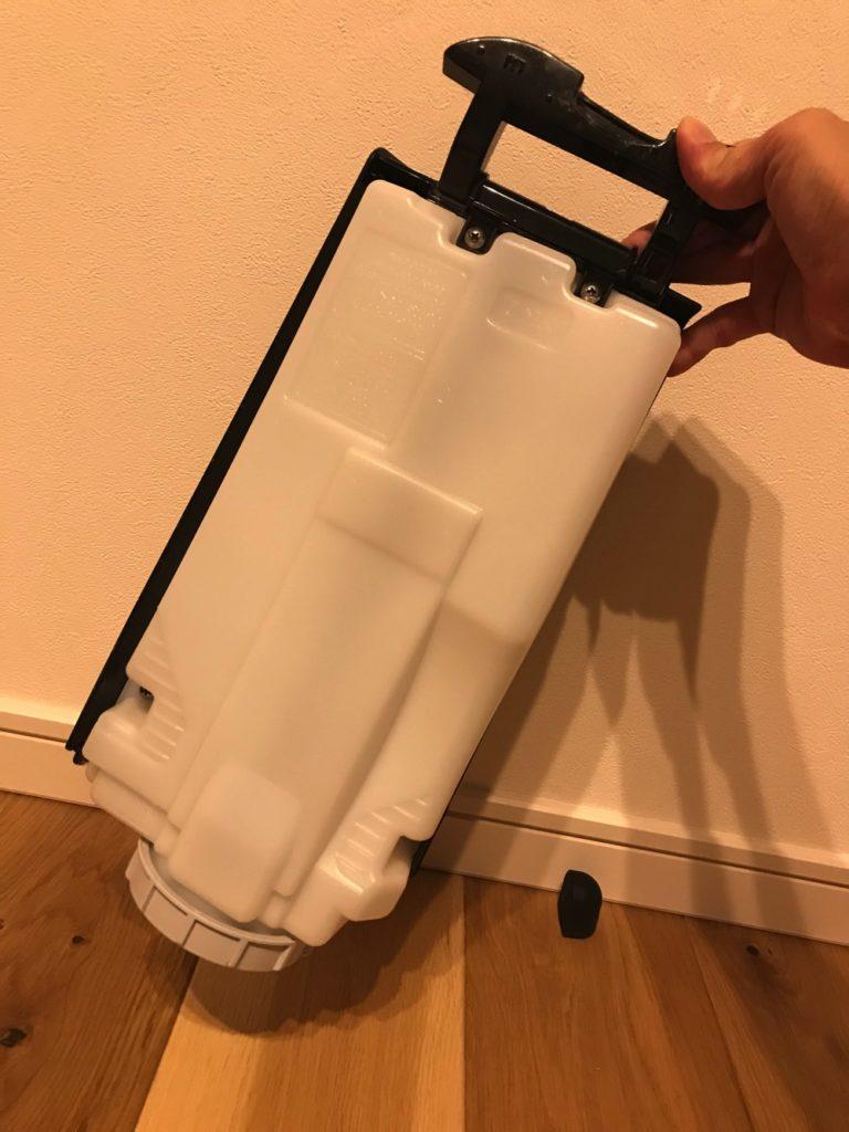 シャープの空気清浄機の給水タンク