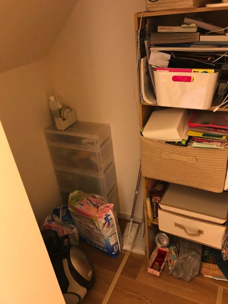 リビング収納は造り付けの棚はなしでカラーボックスが便利