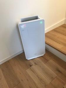 新築で購入する家電、空気清浄機のおすすめはHITACHIのクエリア
