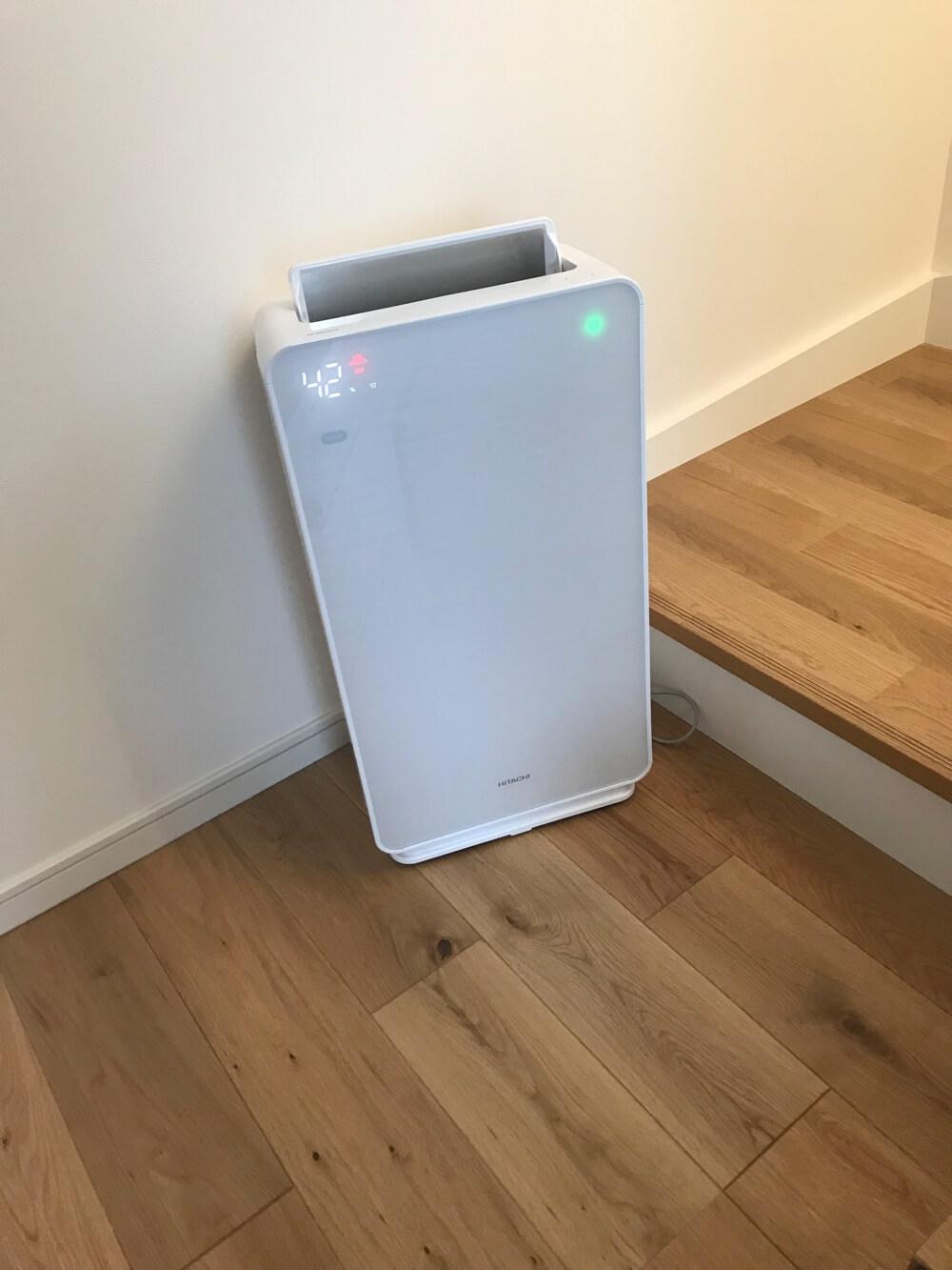新築で購入する家電、空気清浄機のおすすめはHITACHIのクリエア